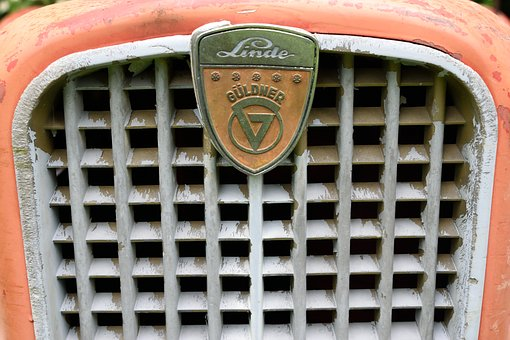 Logo, Old, Tractor