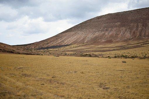 Lanzarote, Volcano, Prado, Canary Islands, Landscape