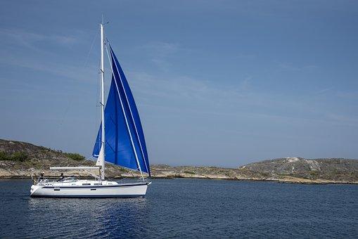 Sailboat, Sea, Boat, Sailing, Summer, Ship, Water