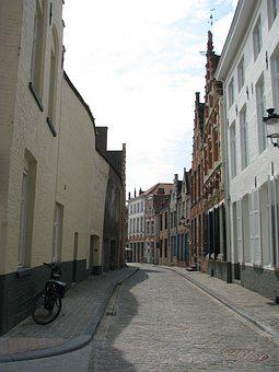 Bruges, Kamienica, Shutters, Old House, Architecture