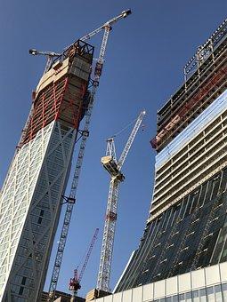 Construction, Skyscraper, Tower, Architecture, Building