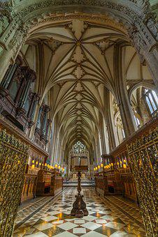 Cathedral, Bristol, Architecture, Uk, Religion