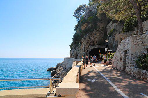Beach, The City, Monaco, The French Riviera, Riviera