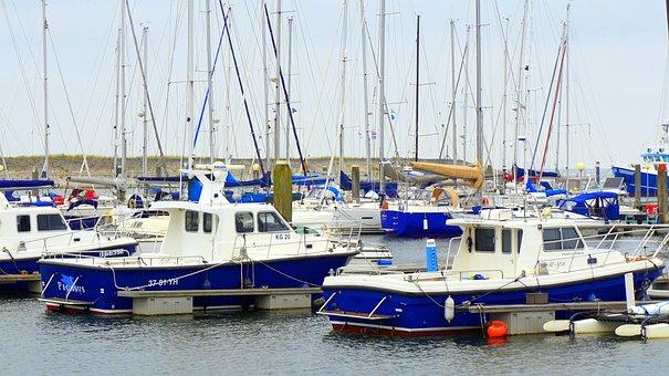 Sail, Port, Sailing Vessel, Boats