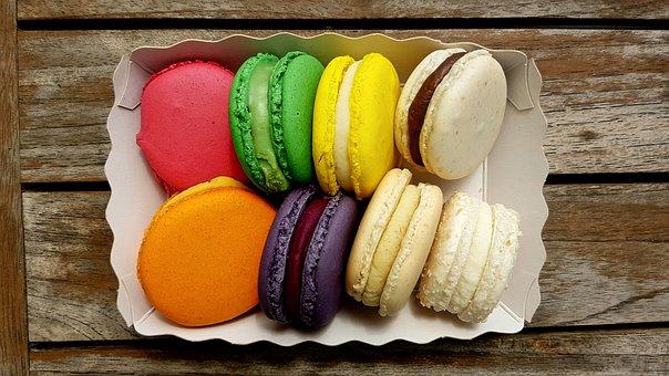 Pastries, Sweetness, Macarons, Cake, Cookie, Macaroons