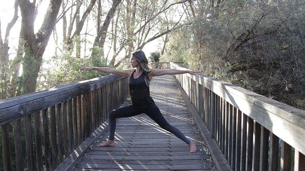Yoga, Nature, Woman, Female, Zen, Calm