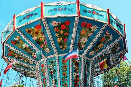 Fair, Carousel, Year Market, Folk Festival, Rides