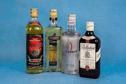 Alcohol, Vodka, Cognac, Consumption, Drinking