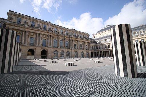 Palace, French Comedy, Columns, Modern Art, Paris