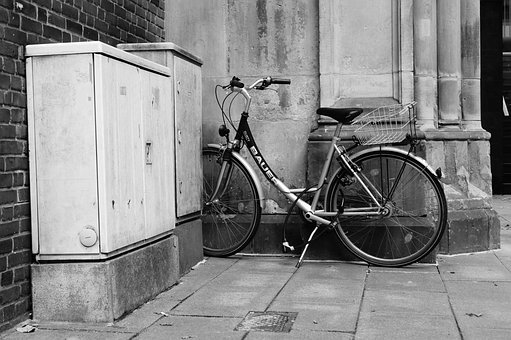 Wheel, Bike, Cycling, Turned Off, Still Life