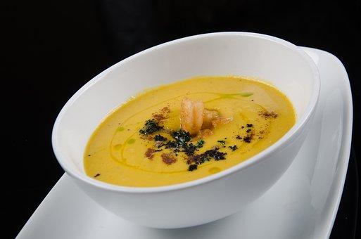 Cream, Soup, Dish, Rico, Lunch, Dinner, Restaurant
