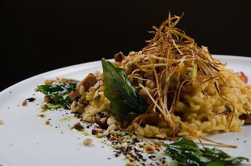 Salad, Dish, Tasting, Gourmet Food, Restaurant
