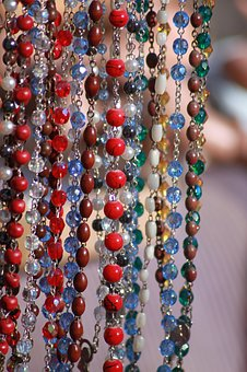 Necklaces, Flea Market, Beads, Junk, Craft, Pendants