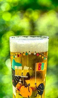 Beer, Beer Crown, Foam, Glass, Beer Garden, Drink