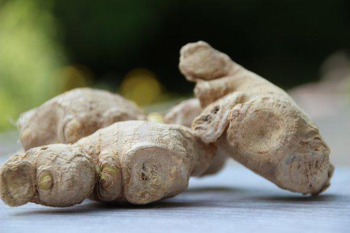 Ginger, Spice, Ginger Root, Ginger Tuber, Asian Cuisine