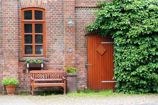 Door, Window, Home, Architecture, Input, Building, Wall