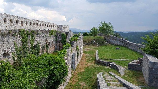 Fort, Croatia, Military Fort, City, Dalmatia