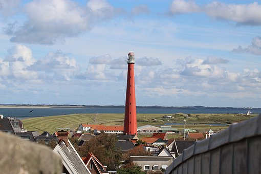 Lighthouse, Holland, North Sea, Netherlands, Coast