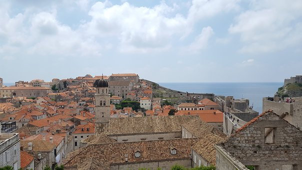 Old Town, Dubrovnik, City, Architecture, Port