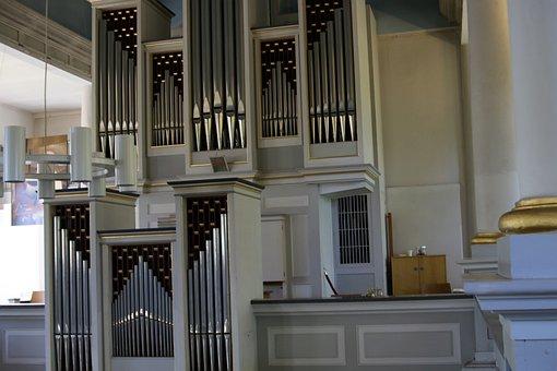 Organ, Church Of Hamburg, Altenwerder, Organ Whistle