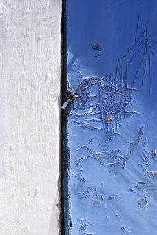 Blue, Paint, Texture, Color, Pattern, Backdrop, Wall