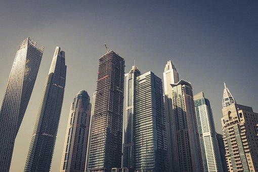 Dubai, Skyscrapers, The Skyscraper, Office Building