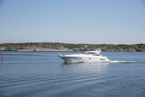 Boating, Sea Life, Granite, Summer, Bohuslän, Sea