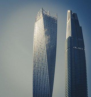 Dubai, The Skyscraper, Skyscrapers, Office Building