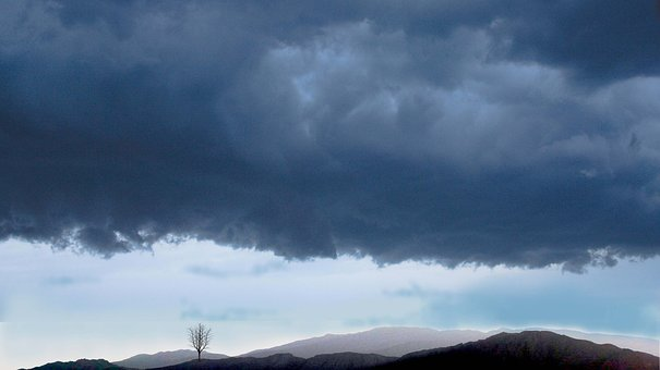 Weather, Storm, Cloudburst, Clouds, Thunderstorm, Sky