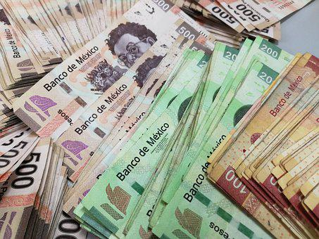 Money, Tickets, Weights, Wealth, Mexico, Cash, Bank