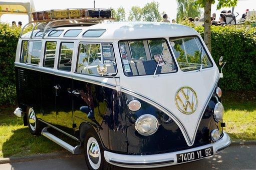 Van, Volkswagen, Transport, Means Of Transport