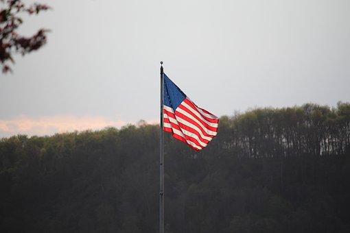 Flag, Usa, Usa Flag, American, National, Symbolic