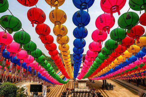 Buddha's Birthday, Wish, Lantern, Republic Of Korea