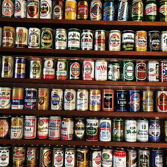 Beer, Cans, Drinks, Tin