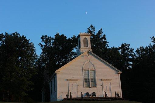 Chapel, Church, God, Building
