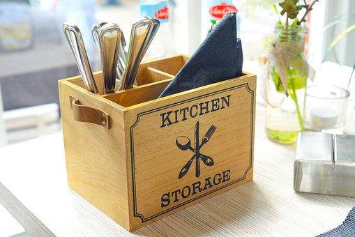 Kitchen, Knife, Fork, Cut, Sharp, Equipment, Tool