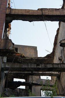 Demolished, Building, Construction, Demolition, Destroy