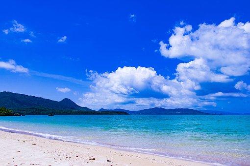 Okinawa, Sea, Japan, Landscape, Sky, Southern Countries