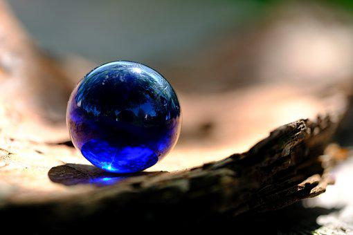 Ball, Glass Ball, Marble, Glass, About, Mirroring
