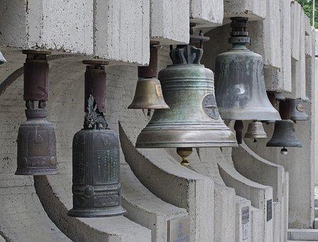 Bells, Bell Park, Sofia, Bulgaria, Concrete, Monument