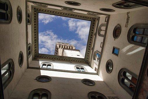 Old Palace, Florence, Tuscany, Monument, Palazzo, Works