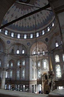 Mosque, Istanbul, Minaret, Architecture, Turkey