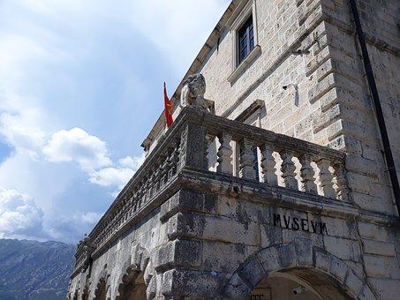 Montenegro, Museum, Perast, Old, Building, Kotor