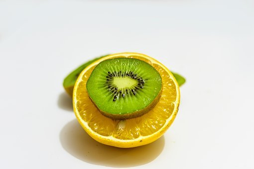 Kiwi, Orange, Fruit, Fresh, Healthy