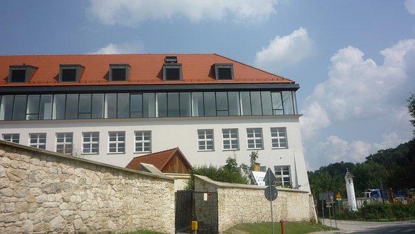 Kazimierz Dolny, Poland, Architecture, School, Building