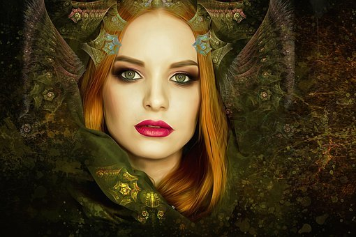 Fairy, Queen, Fairy Queen, Fantasy, Gothic, Dark, Woman