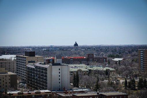 Regina, Saskatchewan, Canada, Canadian, Landscape