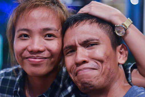 Couple, Acne, Young, Man, Skin, Woman, Female, People