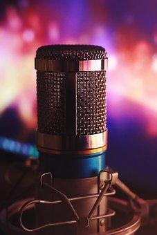 Audio, Mic, Sound, Equipment, Studio, Voice, Record