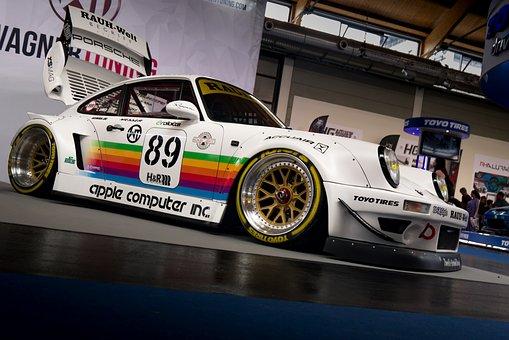 Rwb, Porsche, Auto, Rough World Term, Spoiler